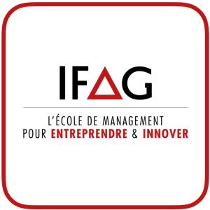 Logo Références Clients - IFAG - Institut de Formation aux Affaires et à la Gestion - Ecole de Management - Cabinet Social, Stéphanie LADEL