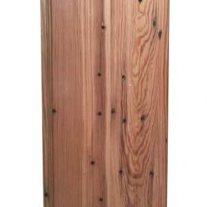 Pecky Cypress Wood Cabinet Door