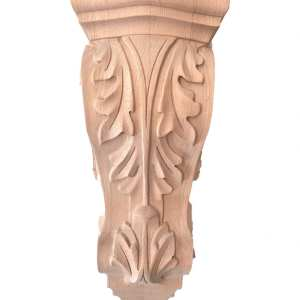 Acanthus Maple Corbel- 12 3/8 inch