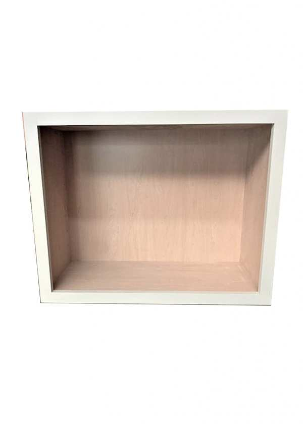 Upper Cabinet in Gray Finish Without Shelf 12x291/2x24