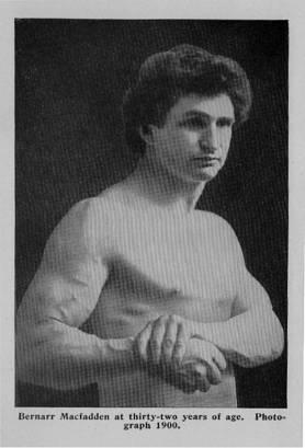 Bernarr Macfadden, 1900
