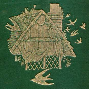 Detail from cover of Strange Dwellings