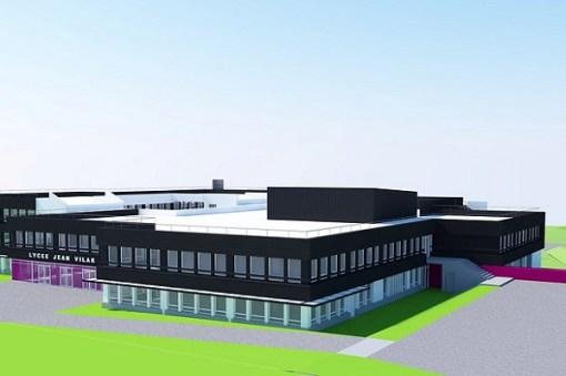 Lycée Jean Vilar – Plaisir – Réhabilitation