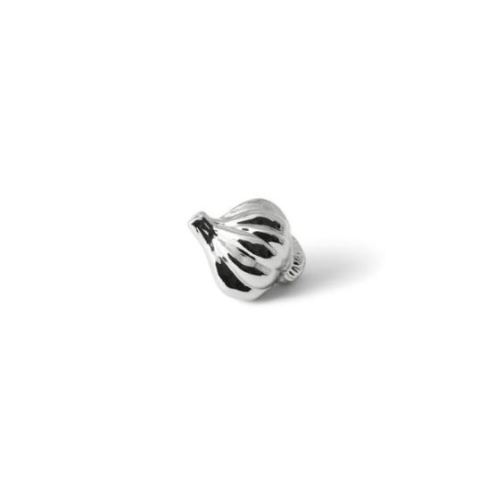 Nickelplate Garlic Knob
