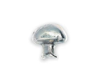Michael Aram Vegtable Series Nickel Mushroom Cabinet Knob