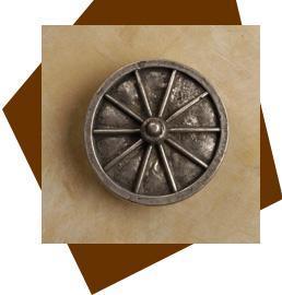 Anne At Home Wagon Wheel Cabinet Knob-Medium