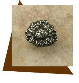 Anne At Home Sunflower Round Cabinet Knob - Small