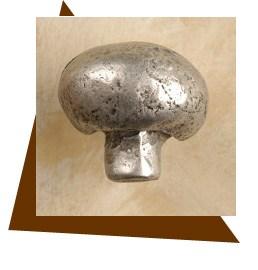 Anne At Home Mushroom Cabinet Knob - Small