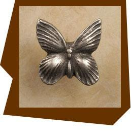 Anne At Home Butterfly Cabinet Knob Small