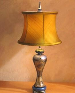 Susan Goldstick DecorativeTable Lamps - Seaside Sara / Nugget Silk Shade