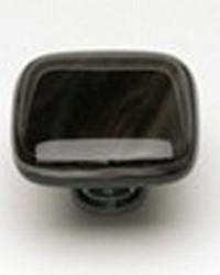 Sietto Glass Cabinet Pull Cirrus Cirrus Brown w/ White Accent