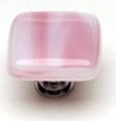 Sietto Glass Cirrus Cabinet  Knob Pink