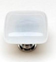 Sietto Glass Cabinet Knob Cirrus  White