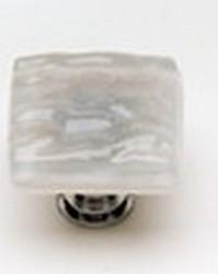 Sietto Glass Cabinet  Knob Glacier Blue Grey
