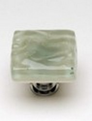 Sietto Glass Cabinet Knob Glacier Spruce Green