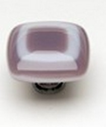 Sietto Glass Cabinet Pulls Luster     Lilac