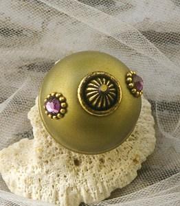 Susan Goldstick Jade Nu Mini 1 Decorative Cabinet Knob