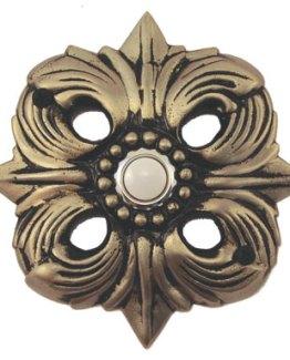 Waterwood Hardware Decorative Avalon Doorbell- Pewter