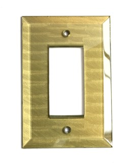 Susan Goldstick Glass Jade Single Decora Light Switch Cover