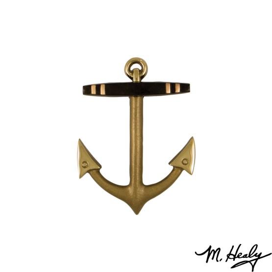 Michael Healy Designs Anchor Door Knocker - Brass