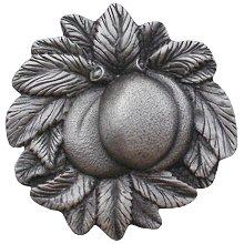 """Notting Hill Cabinet Knob Georgia Peach Antique Pewter 1-5/8"""" diameter"""