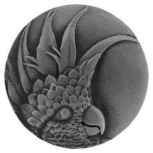 Notting Hill Cabinet Knob Cockatoo Antique Pewter