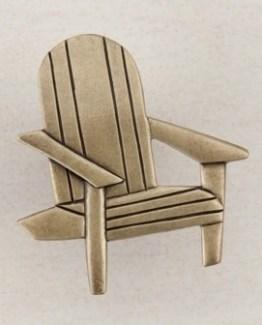 Acorn Manufacturing Beach Chair Cabinet Knob Antique Brass