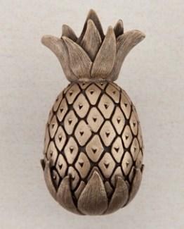 Acorn Manufacturing Pineapple Cabinet Knob Museum Gold