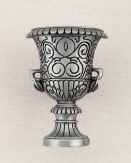 Acorn Manufacturing Urn Cabinet Knob Antique Pewter