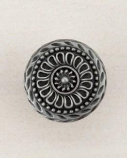 Acorn Manufacturing Lace Circle Cabinet Knob Antique Pewter