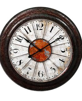 Charleston Knob Company Antique Clock Face Cabinet Knob