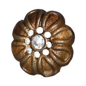 Charleston Knob Company Floral Design Cabinet Knob