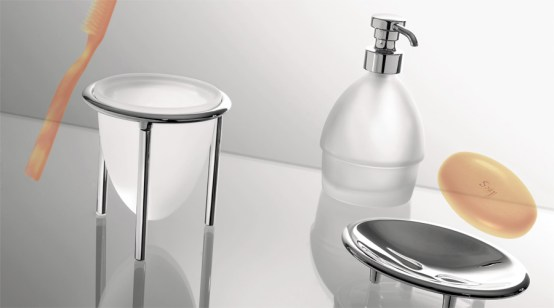 Colombo Design Khala CollectionFree Standing Soap Dispenser Chrome