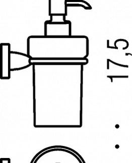 Colombo Design Basic Collection Soap Dispenser – Chrome