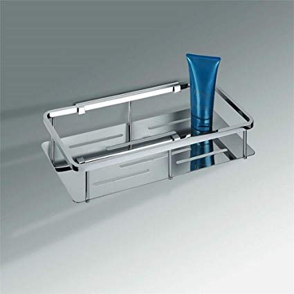 Colombo Designs Free Standing Soap Basket For Shower Chrome