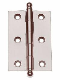 "Von Morris Hardware Five Knuckle-Loose Pin Mortise Cabinet Hinge 2.5"" x 2.5 """