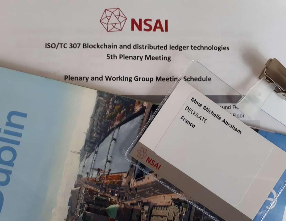 ISO TC307 Participant