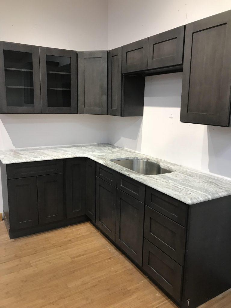 Greystone Shaker Cabinet Cabinetry Amp Stone Depot