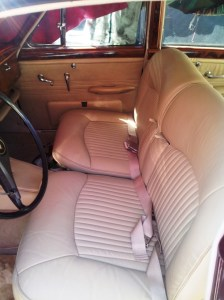 Classic Car Seat Upholstery