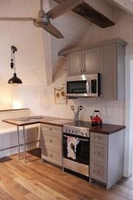 Elegance Transitional Ashen Kitchen
