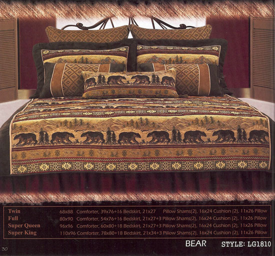 Tahoe Lodge Style Furnishings Cabin Fever Tahoe Bedding