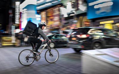 Lien de subordination pour les livreurs à vélos