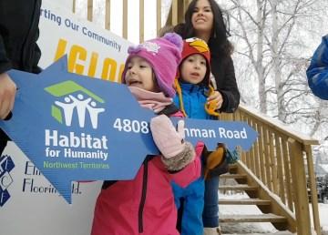 Habitat for Humanity keys handed over