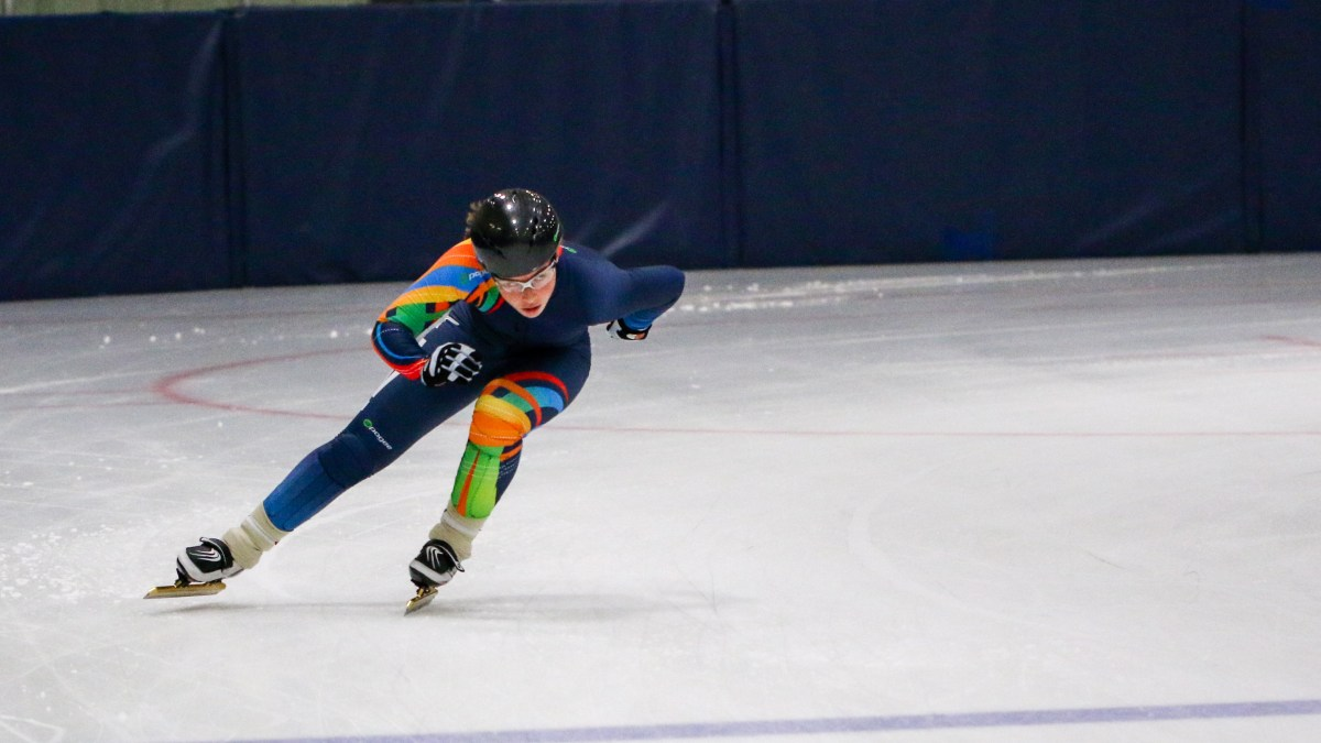 Yellowknife teen 'overjoyed' by Juniors speed skating debut