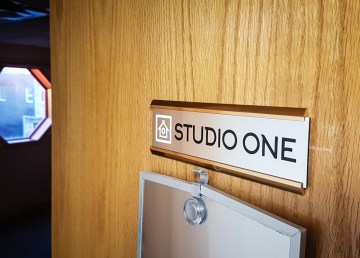 Cabin Radio Studio One