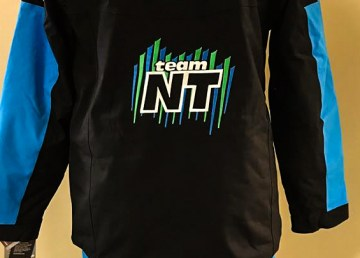 A detail from a Team NWT walkout jacket to be used by athletes at the 2018 Arctic Winter Games - Team NT-Facebook