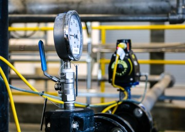Equipment at Yellowknife's water treatment centre