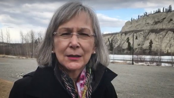 Marion Buller, chief commissioner of the National Inquiry into Missing and Murdered Indigenous Women and Girls, is pictured in a still from a video released by the inquiry in 2017