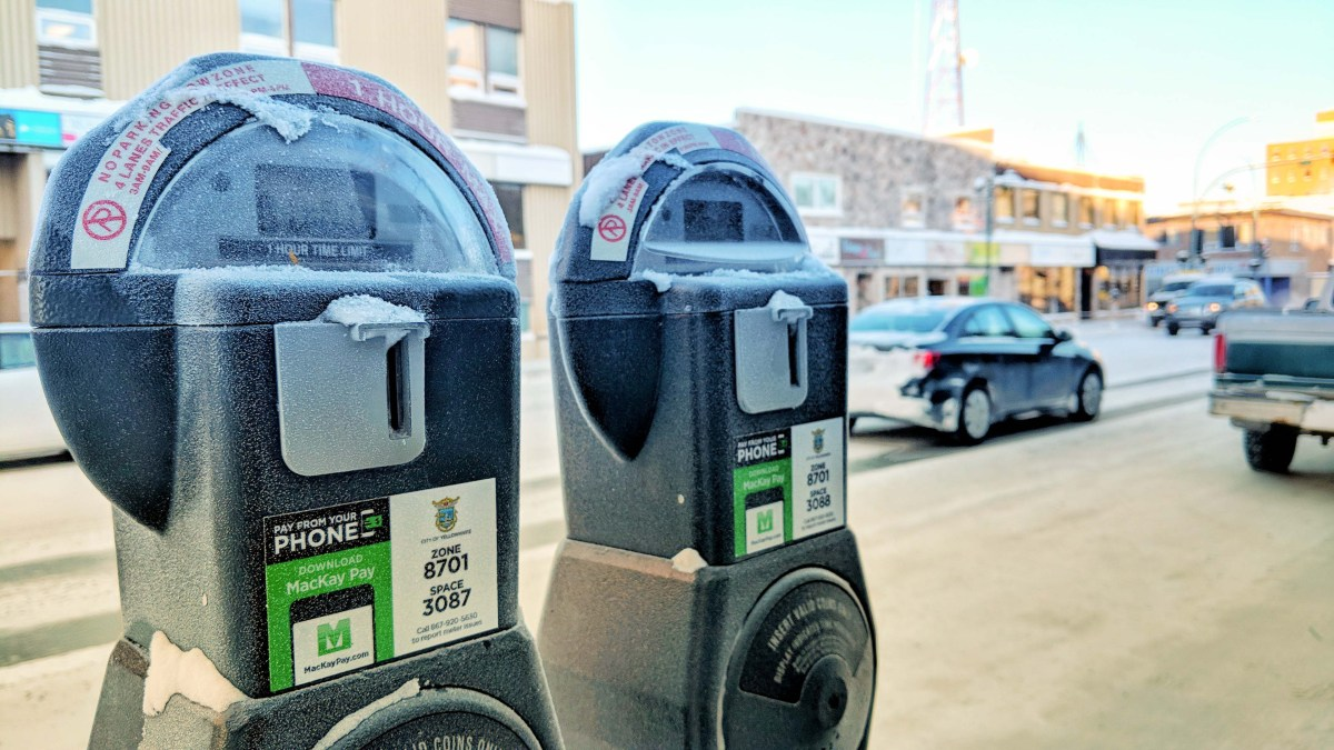 Yellowknife parking meters now take payments by app
