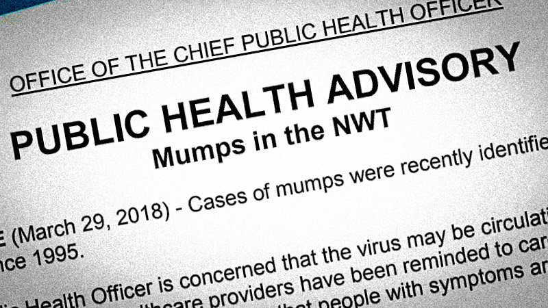 Handgames link as first NWT mumps cases in 23 years emerge